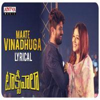 Maate Vinadhuga song poster