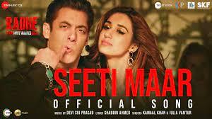 Seeti Maar song poster