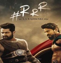 RRR Hindi poster